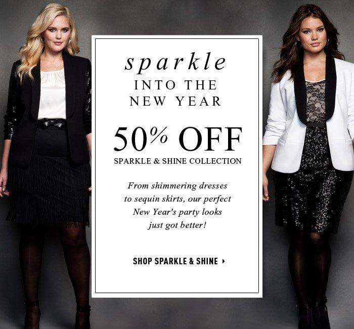 SHOP SPARKLE & SHINE »