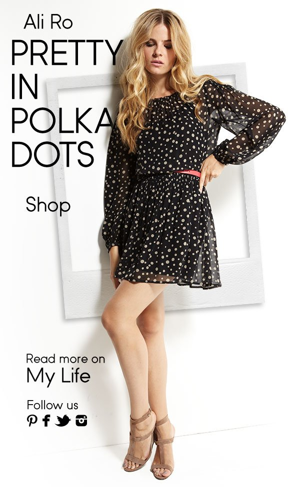Ali Ro - Pretty in polka dots