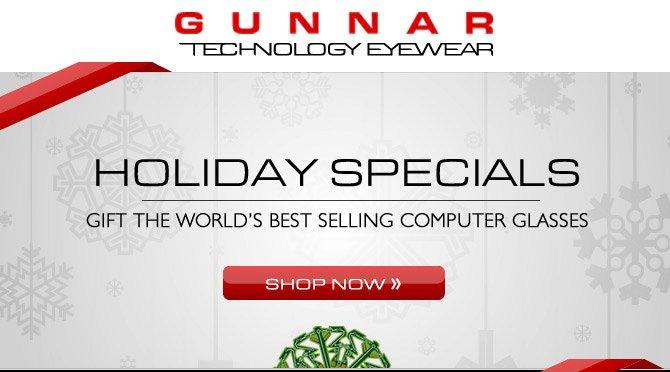 GUNNAR Holiday Specials - Free U.S. Shipping