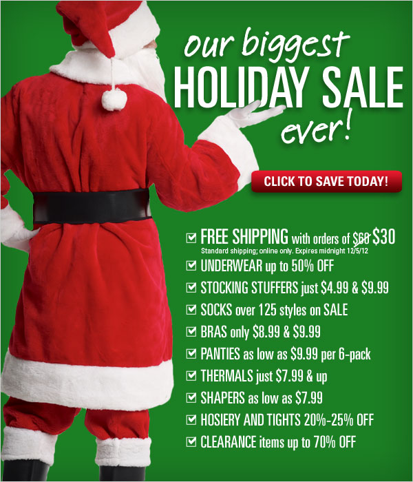 Biggest Holiday Sale Ever