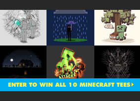 Enter to win all 10 Minecraft tees.