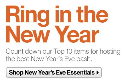 Shop New Year's Eve Essentials