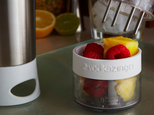 The Vodka Zinger is genius.  Take fresh fruit, add your spirit of choice and ZING...you'll end up with infused alcohol in seconds.
