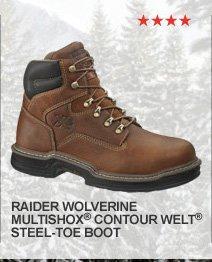 Raider Wolverine Multishox Contour Welt Steel-Toe