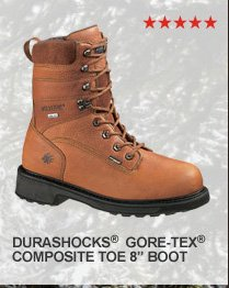 Durashocks GORE-TEX Composite Toe 8""