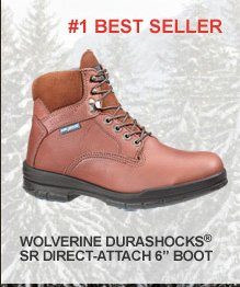 Wolverine Durashocks SR Direct-Attach 6""
