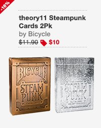 theory11 Steampunk Cards 2Pk Image