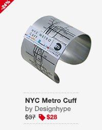 NYC Metro Cuff Black Image