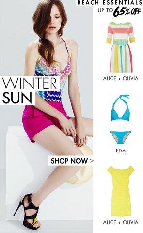 WINTER SUN=
