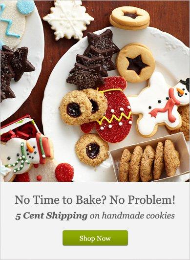 No Time to Bake? No Problem! - Shop Now