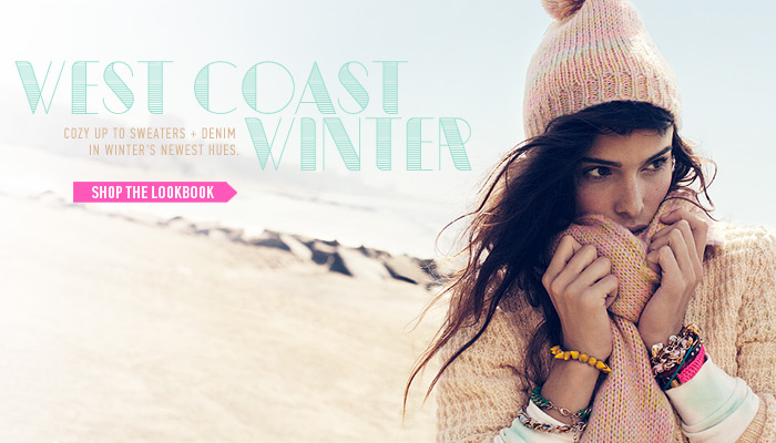 West Coast Winter Lookbook - Shop Now