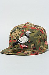 The Pigeon New Era Fitted Cap in Pigeon Camo