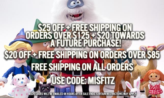 $25 OFF + Free shipping on orders over $125 + $20 towards a future purchase!