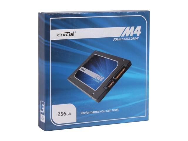 Crucial M4 CT256M4SSD2 2.5 inch 256GB SATA III MLC Internal Solid State Drive (SSD)