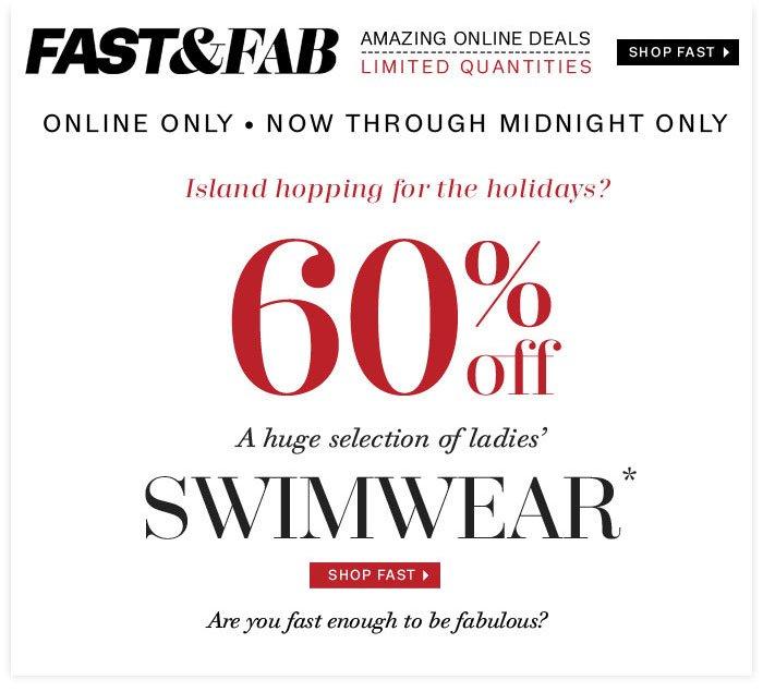 Shop Fast Swimwear