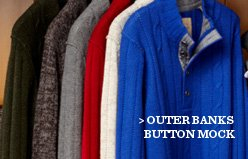 Outer Banks Button Mock