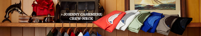 Johnny Cashmere Crew-Neck