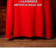 Cashmere Antigua Half-Zip