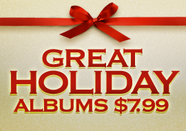Great Holiday Albums: $7.99