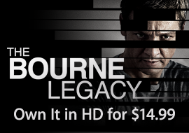 The Bourne Legacy - Own It in HD for $14.99