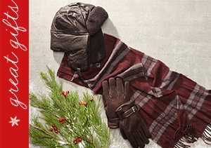 John Varvatos: Hats, Gloves & Scarves