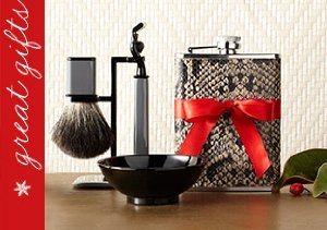 Gifts by Wilouby: Flasks, Shaving Sets & More