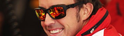 Formula 1 Superstar Fernando Alonso Charges Into Final Race For World Title