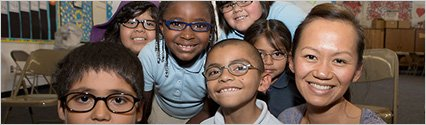 Oakley and OneSight Team Up to Give the Gift of Sight to Elementary School Kids in Santa Ana, Calif.