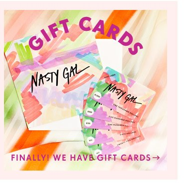 Nasty Gal Gift Cards