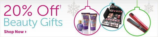 20% Off+ Beauty Gifts - Shop Now