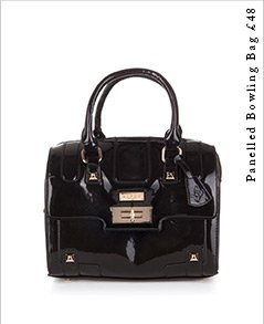 Panelled Bowling Bag