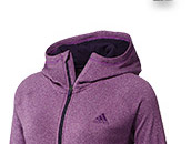 Shop Women's Ultimate Full Zip  Fleece Hoodie »