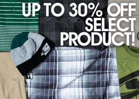 Up to 30% Off Select Sale Product!