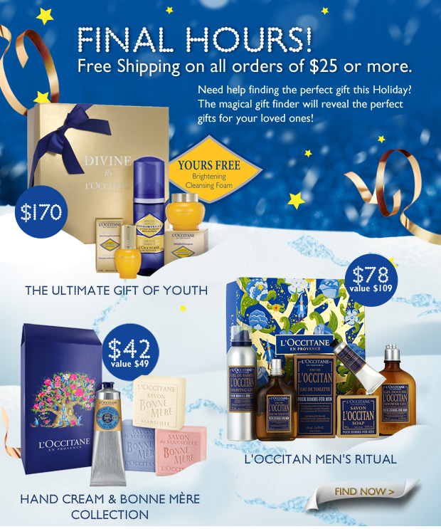 FINAL HOURS! Free Shipping on all orders of $25 or more.  		 Need help finding the perfect gift this holiday? Conjure up the perfect gift for your loved ones with our magical gift finder