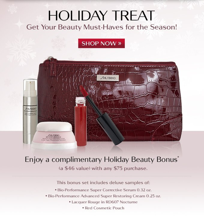 Holiday Beauty Bonus - Limited Time Only!