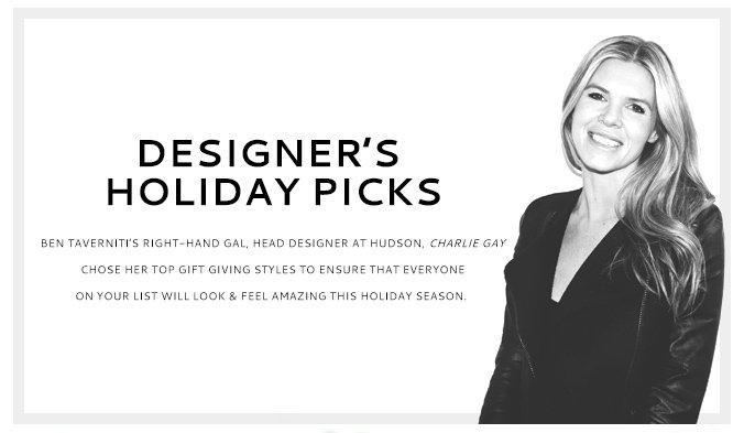 Designer's Holiday Picks
