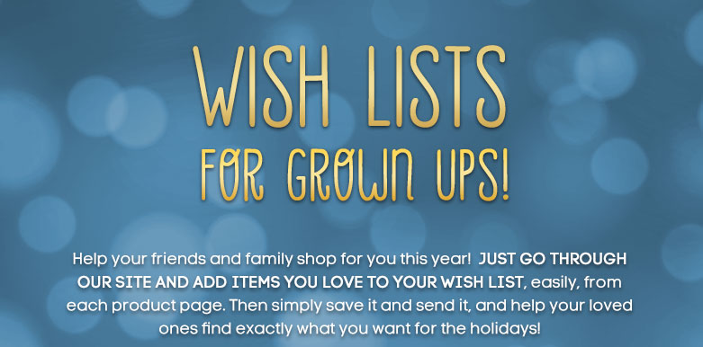 wish lists for grown ups
