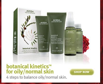 botanical kineticsTM  for oily/normal skin shop now