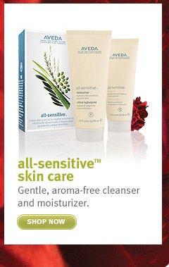 all sensitive skin care shop now