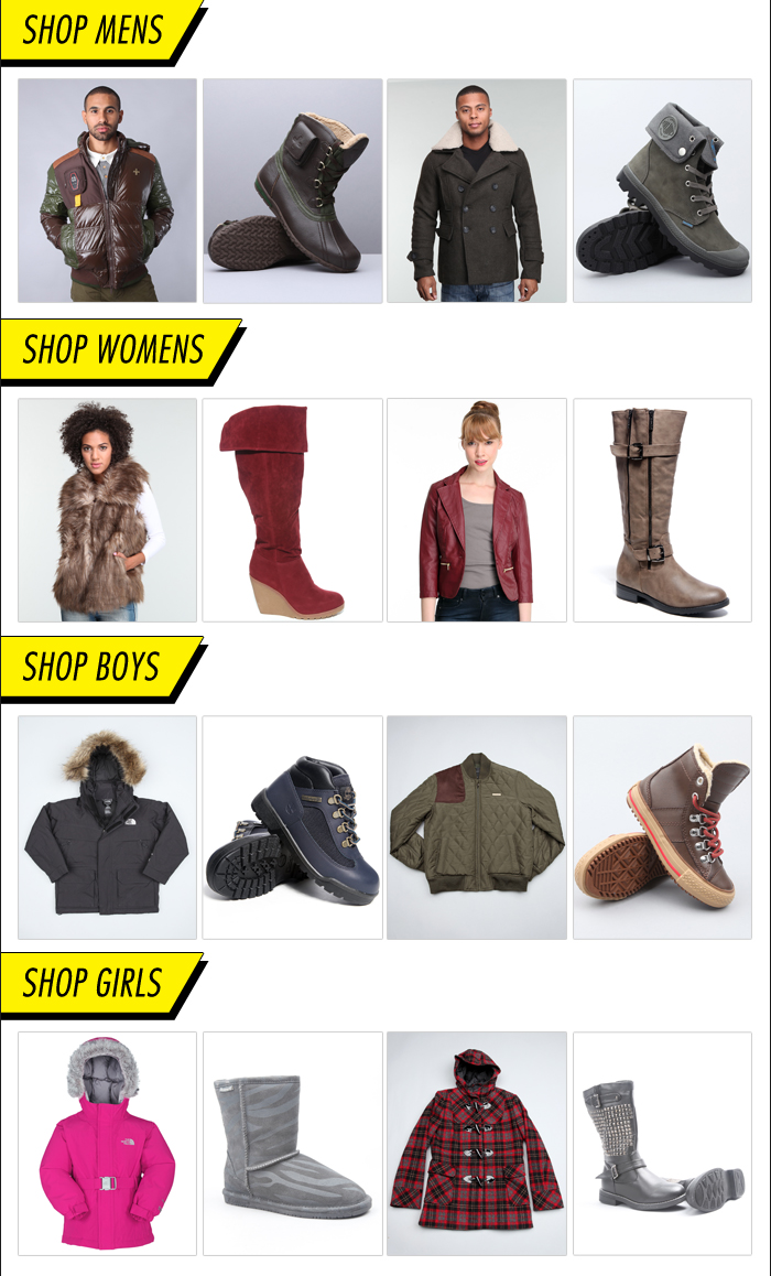 DrJays.com Shop Outerwear and Boots.