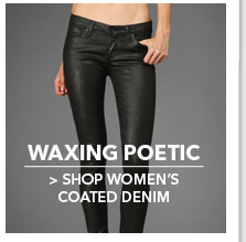 Shop Women's Coated Denim
