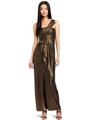 BCBGMAXAZRIA<br/> Barbara One Shoulder Long Dress