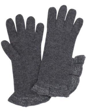 Never2Late <br/>Glitz Ruffle Trim Glove