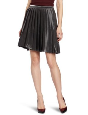 Yoana Baraschi <br/>Metallic Pleated Skirt