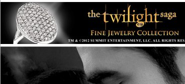 the twilight saga FINE JEWELRY COLLECTION TM & C 2012 SUMMIT ENTERTAINMENT, LLC. ALL RIGHTS RESERVED
