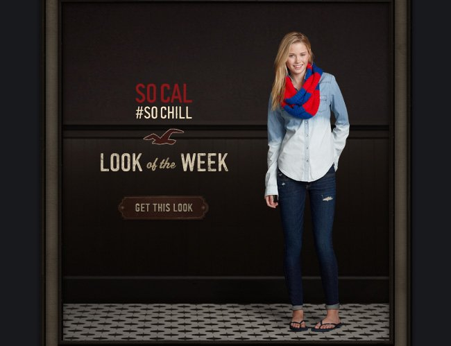 SO CAL #SOCHILL LOOK OF THE WEEK. GET THIS LOOK