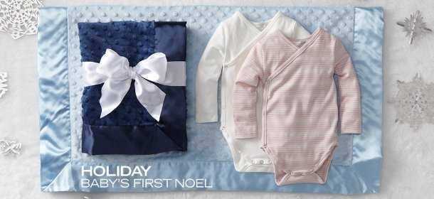HOLIDAY: BABY'S FIRST NOEL, Event Ends December 7, 9:00 AM PT >