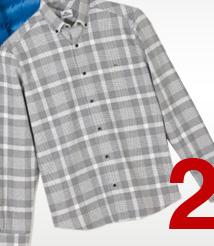THE SLIM–FIT FLANNEL