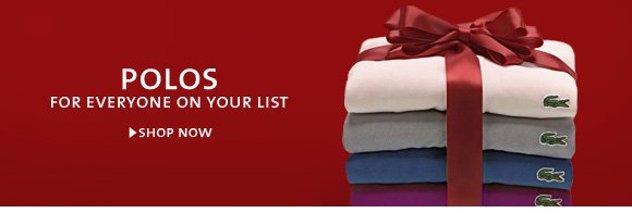 POLOS FOR EVERYONE IN YOUR LIST