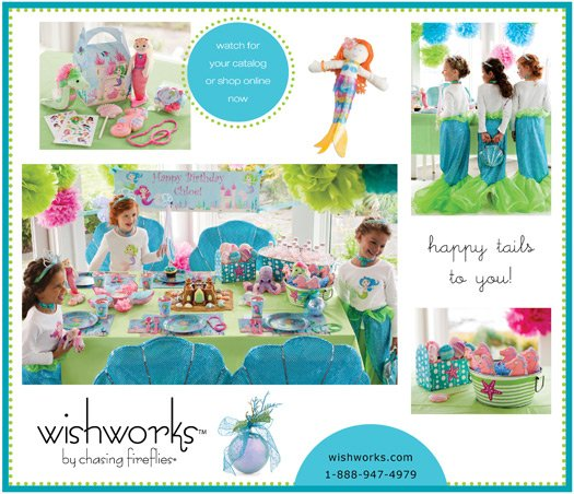 New Wishworks party catalog